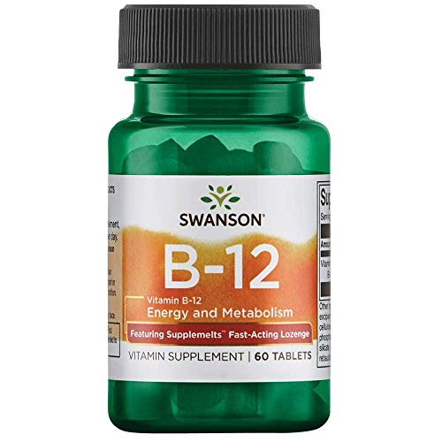 (Swanson Supplemelts Sublingual Vitamin B-12 5 Milligrams 60 Tabs)