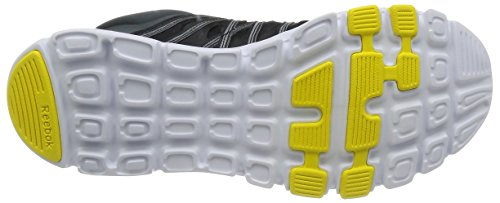 gravel black white yellow Reebok Running 0 8 Para De Hombre Train Zapatillas Schwarz Spark Yourflex PCPqwB