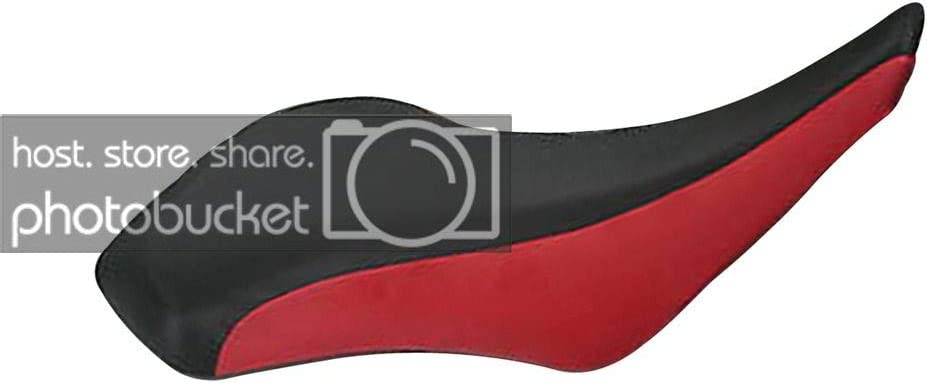 Moto Gear Graphics Seat Cover Compatible With LTZ 400 KFX 400 Black Red Seat Cover #MGGSL05717