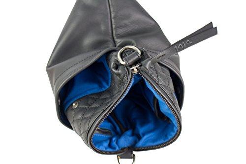 Feldmoser Fortado bolso bandolera piel 21 cm Black