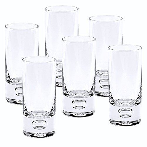 Badash Galaxy Vodka Shot Glass, 2-Ounce, Set of 6