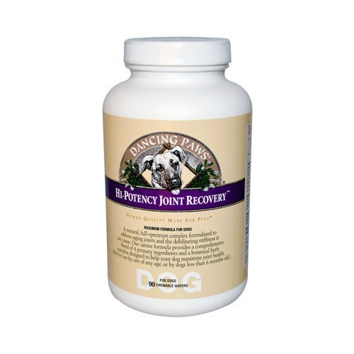 Dancing Paws Hi - Potency Joint Recovery for Dogs - 90 Chewable Wafers by Dancing Paws