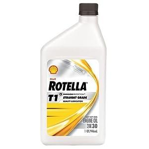 Diesel Motor Oil, 1 qt., 30W, Rotella T1