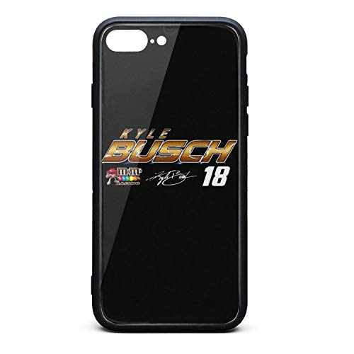 (HDKASDAA Kyle-Busch-#18-2019-NASCAR-Cup-Series-Driver- Cell Phone Case for iPhone 7 Plus/8)