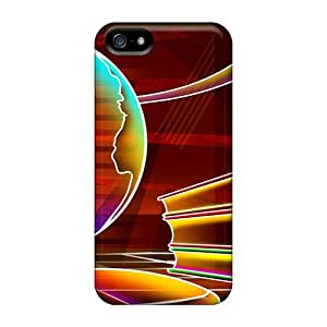 Yinmobileshop VZr12563SevM Cases For Iphone 5/5s With Nice 3d Neon Colorful 20 Appearance Black Friday