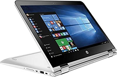 "HP Pavilion X360 2-in-1 13.3"" Touchscreen Premium Laptop, Intel Core i3-6100U Processor, 6GB RAM, 500GB HDD, 8-hour Battery Life, 802.11ac, Webcam, HDMI, Bluetooth, No DVD, Windows 10"
