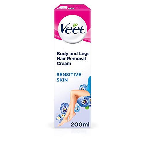 Veet Hair Removal Cream Sensitive Skin with Aloe Vera & Vitamin E (200ml)
