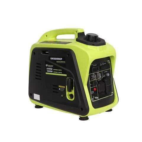 Green-Power America GN2200iP 2200W Inverter Generator, Green/Black