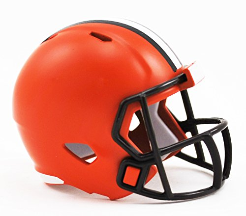 (Cleveland Browns NFL Riddell Speed Pocket PRO Micro/Pocket-Size/Mini Football Helmet)
