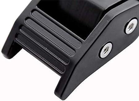 Nero 1 Coppia Free Size TXYFYP Meccanismo Chiusura Chiave Kit di Bloccaggio Acciaio Inox Chiavistello Chiusura Chiusura Cofano per Jeep 2007-2018 per Wrangler JK Jku 2 Porta e Infiniti 4 Porta