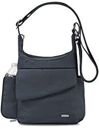 Anti-Theft Classic Messenger Bag, Midnight, One Size