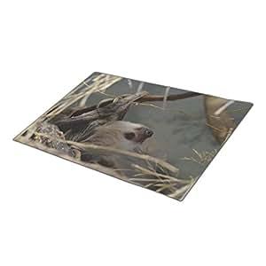 Qking Monogrammed Door Mat Two Toed Sloth Door Mate