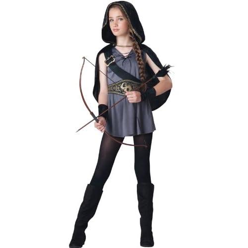 InCharacter Hooded Huntress Tween Costume, Medium (10-12)
