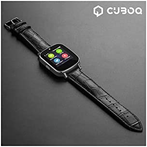 Smartwatch CuboQ Leather: Amazon.es: Deportes y aire libre