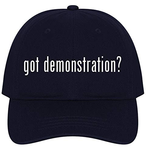 (The Town Butler got Demonstration? - A Nice Comfortable Adjustable Dad Hat Cap, Navy)