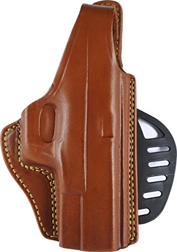 - Gould & Goodrich 807-MP Gold Line Paddle Holster (Chestnut Brown) Fits  SW M&P 9MM, .40, .357