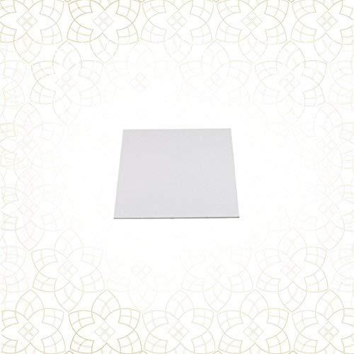 10 x Tortenuntersetzer beidseitig 44 x 34 cm ... GOLD spiegelnd rechteckig