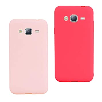 Leton 2X Funda Samsung Galaxy Grand Prime g530 Silicona ...