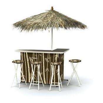 Amazon Com Outsunny 3 Piece Outdoor Mesh Cloth Canopy