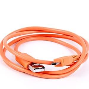 NFE² Cable de datos 95cm Color Naranja para ZTE Blade V220