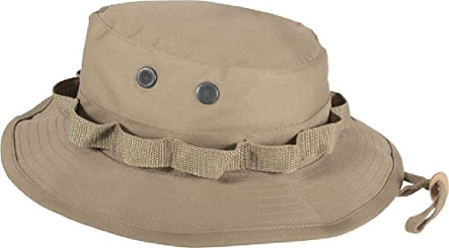 Camouflage Military Wide Brim Bucket Camping Hunting Boonie (Acu Digital Desert Goggles)