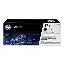 HP 12A - Print Cartridge for LaserJet 1012 - 2000 Page-Yield, Black(sold indi...