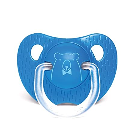 Suavinex Chupete PHYSIOLOGIQUE oso azul oscuro + 18 meses ...