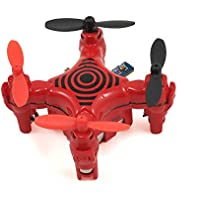 Estes Proto-N Micro Quad Ready to Fly Electric-Powered Radio Controlled Nano Drone (Red)