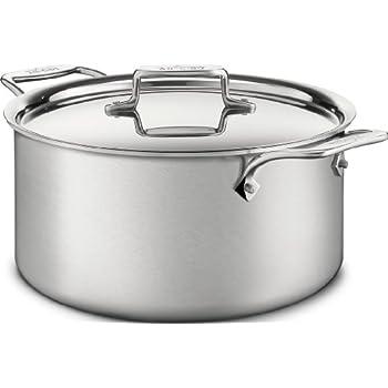 Amazon.com: All-Clad - Cacerola para sopa de acero, de 8 ...