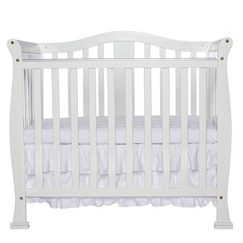 Dream On Me Addison 4 in 1 Convertible Mini Crib, White