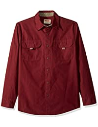 Authentics Men's Long Sleeve Canvas Shirt