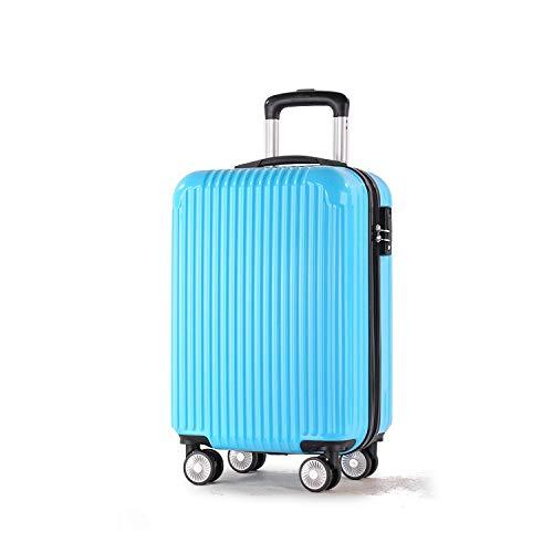 SfHx ABS + PCマテリアルスーツケース、スーツケーストローリーケースユニバーサルホイールロックボックス (Size : 20 inches) B07MQ5YKT1  20 inches