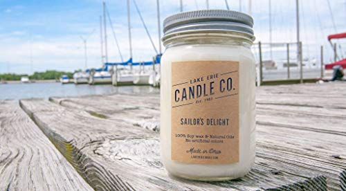 Sailor's Delight - 12oz Soy wax candle - by Lake Erie Candle Co.