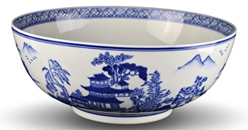 Heritage Chinese Blue and White Landscape 12