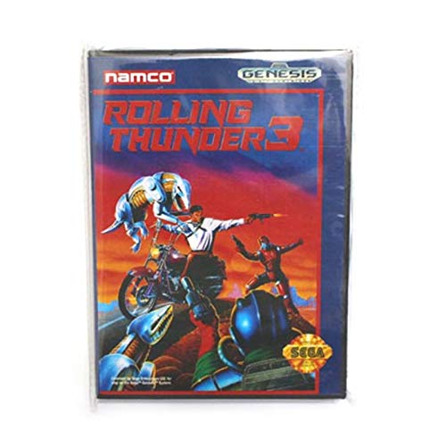 Value★Smart★Toys - Rolling Thunder 3 Boxed Version 16bit MD Game Card for Sega Mega Drive and Genesis