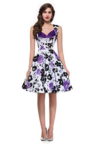 Audrey Hepburn Style Swing Dress Marilyn Monroe Size M VL8901-8