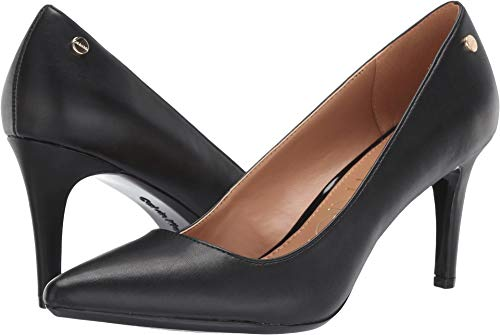 Calvin Klein Women's Nilly Black Cow Kansas 8.5 M US Calvin Klein Womens Shoes