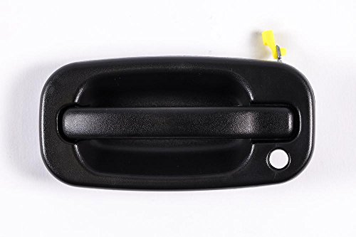 - Front Left Driver Side Black Door Handle for Cadillac Escalade, Chevrolet Avalanche, Silverado, Suburban, Tahoe, GMC Sierra, Yukon, Yukon XL GM1310129 (1999, 2001, 2002, 2003, 2004, 2005, 2006, 2007)