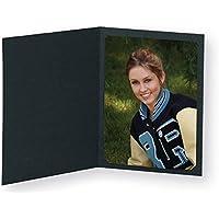 Black Photo Folder for 5x7/4x6 (Pack of 100) Cut corners