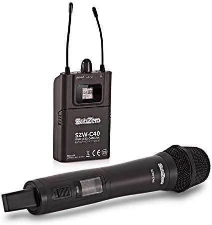 SubZero SZW-C40 Sistema de Micrófono de Mano Inalámbrico para ...