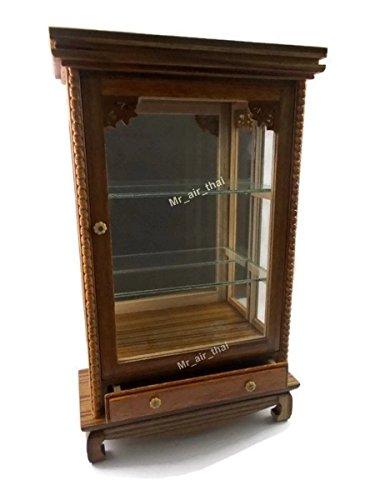 Amazon Com Miniature Wooden Cabinet Shelves Knobs Antique