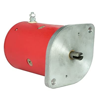 Db Electrical LPL0005 Snow Plow Motor for Early Western Mez7002, 25556, 25556A 12 Volt CW Rotate