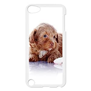 For SamSung Galaxy S6 Phone Case Cover Puppy Dog Crawling On Ground Hard Shell Back White For SamSung Galaxy S6 Phone Case Cover 300225