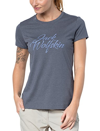 T W Gris Wolfskin Jack Camiseta Marca vwgFYq