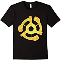 DJ 45 RPM Adapter Vintage Style Turntable Record Gift Shirt