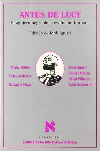 Antes de Lucy (Metatemas): Amazon.es: AA. VV.: Libros