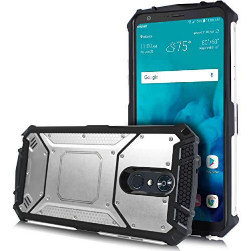 LG Stylo 4 Case, LG Q Stylo Case, Feather Light Aluminum Metal Rugged Cover, Composite Case for LG Stylo 4 Plus/LG Stylus 4 ()