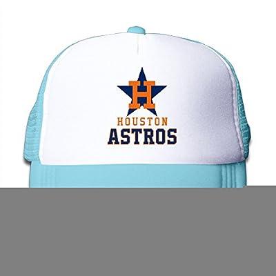 ACMIRAN Houston Astros Soft Children Baseball Cap One Size SkyBlue