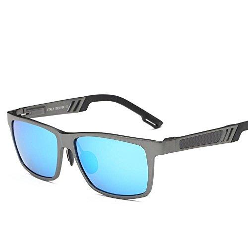 Aluminio conducción B de de tipo polarizado de gafas de todo sol de color conducción hombres haixin gafas de sol clima magnesio gafas gafas dxfX77B