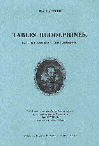 rudolphine tables - 3